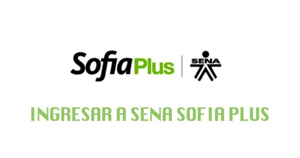 Ingresar a Sena Sofia Plus